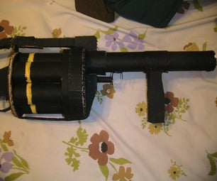 MGL Grenade Launcer Cardboard