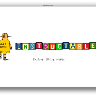 Processing: Instructables Logo Animation