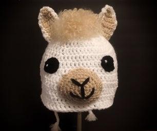 Crochet Llama Hat!