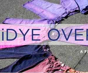 iDye Overdyed Jeans