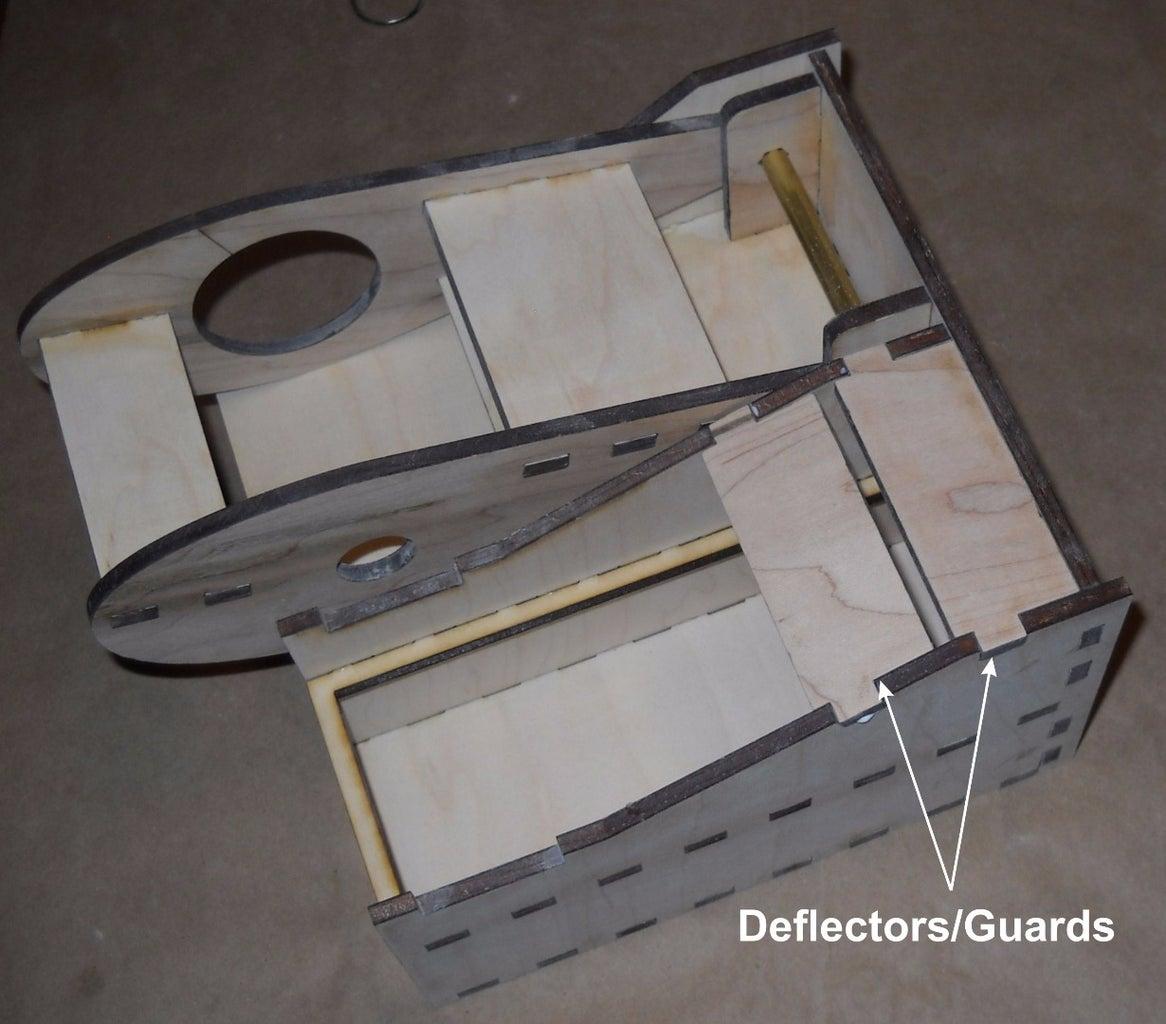 Add Deflectors/ Guards