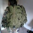 How to attatch MOLLE shoulder straps and hip belt to an ALICE Pack