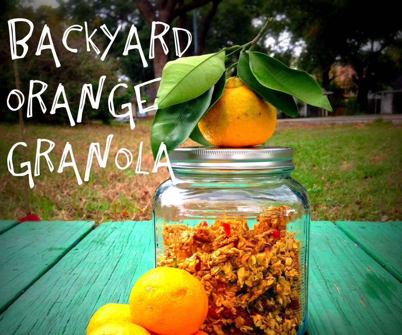 Backyard Orange Granola