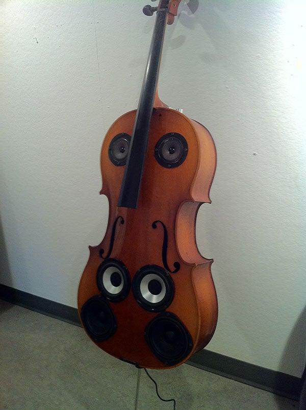 Bluetooth Cello, Junk Making Music Again!