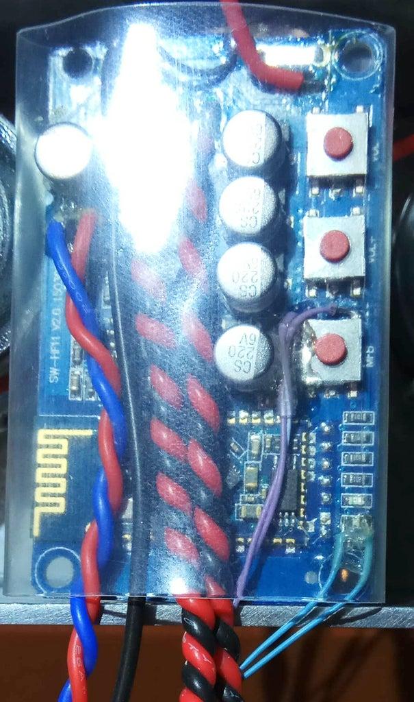 Wiring the Amplifier Board