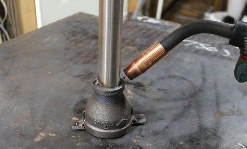 Building the Burner Tube