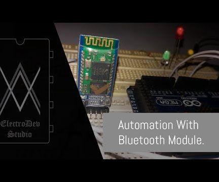 Bluetooth Control Automation (HC-05)