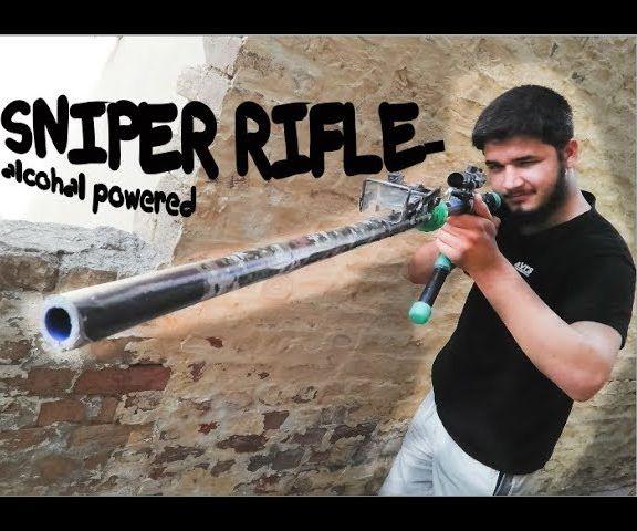 How to a Homemade Alcohol Powered Sniper