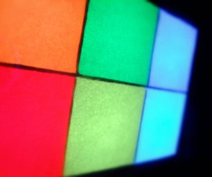 Easy Pixel Nightstand Lamp