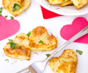 How to Make Simple Roast Potato Hearts