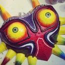 Cardboard Majora's Mask From Zelda