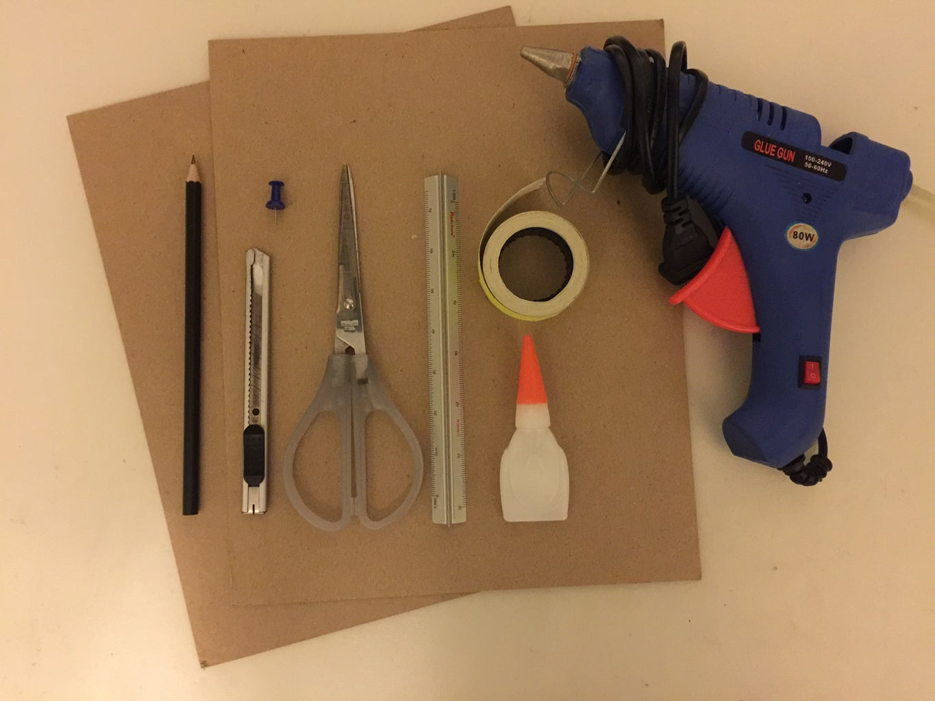 Material, Components & Equipment Needed