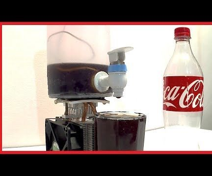 How to Make Coca Cola Soda Cooler Dispenser Fountain Machine