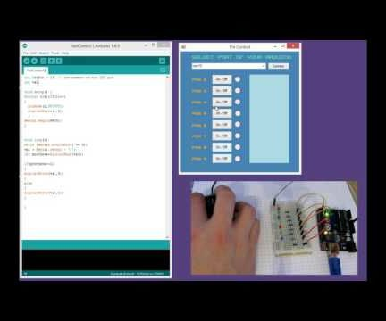 Control arduino without IDE