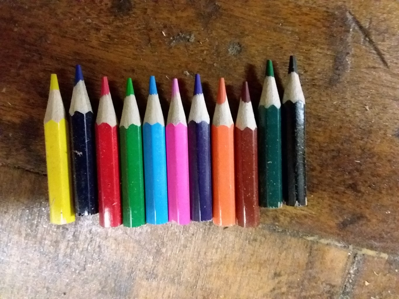 Unpack Your Pencils and Cut Them to Size