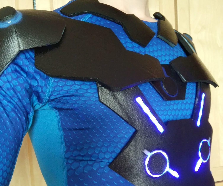 Genji's (Carbon Fiber) Armor EN/FR Armure De Genji Overwatch