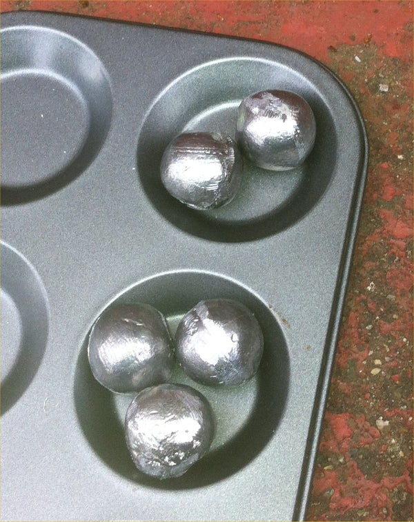 Lead / Pewter Casting at Home