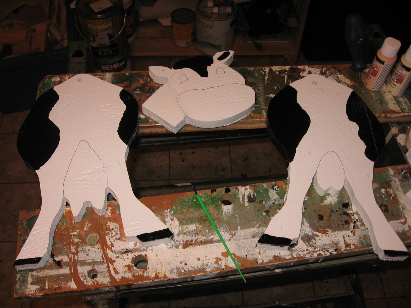 Painting the Herd