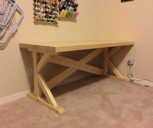 Laminated 2X4 Work Tables