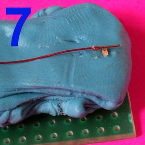 Soldering to the Smallest Surface Mount LED, Resistor or Capacitor