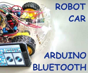 Easy Android Bluetooth Control Car With Arduino