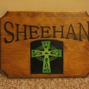 How to make a wood sign with a Craftsman Router