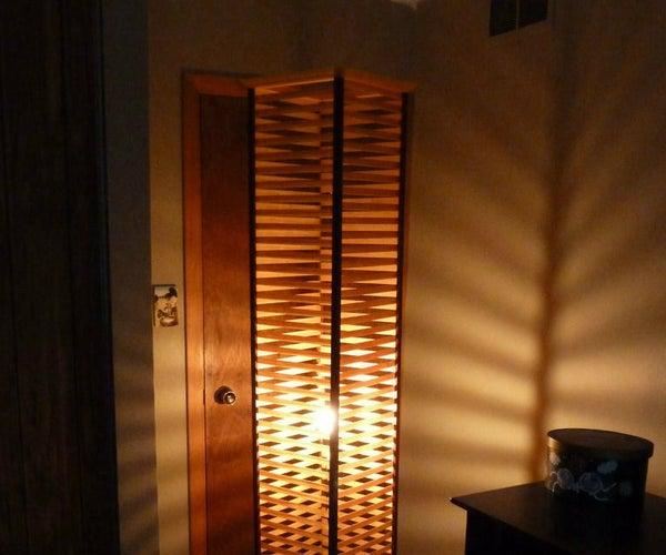 Decorative Wood Lamp