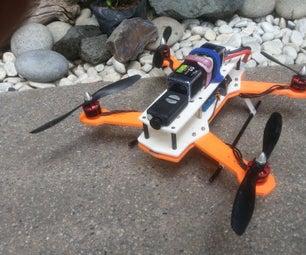 3D印刷赛车Quadcopter