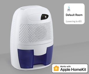 Apple HomeKit Wi-Fi Dehumidifier Based on ESP8266 💧