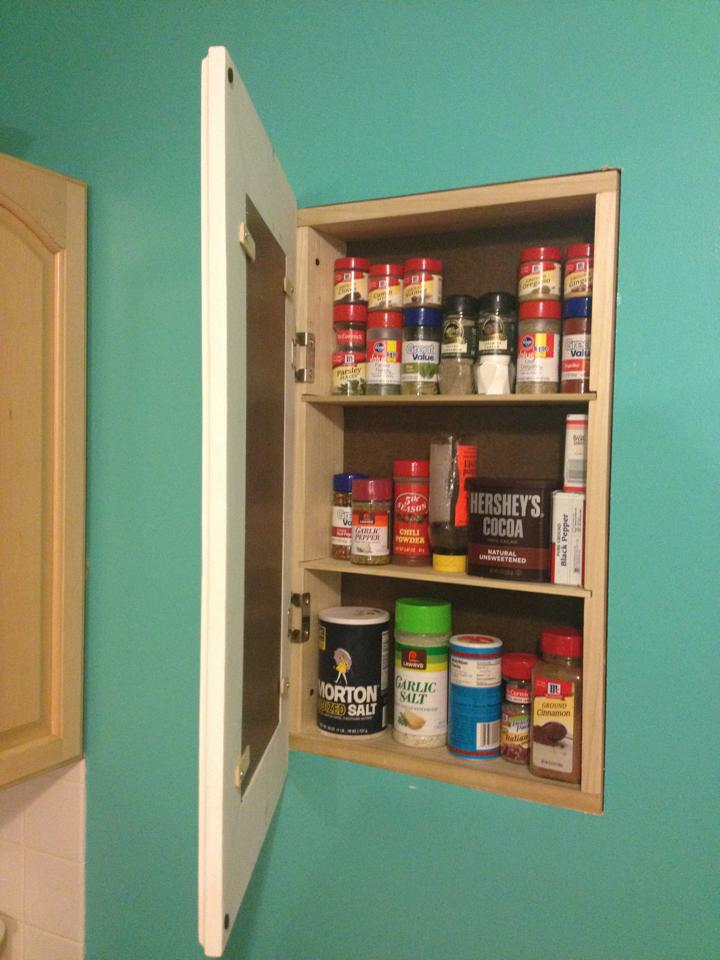 Build a recessed storage cabinet