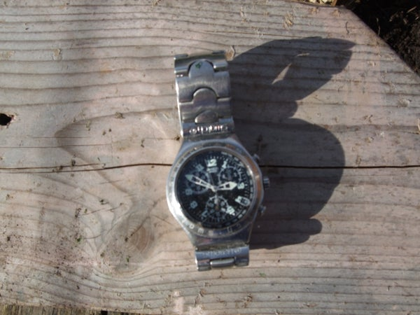 Finding North Using a Watch (Northern Hemisphere)