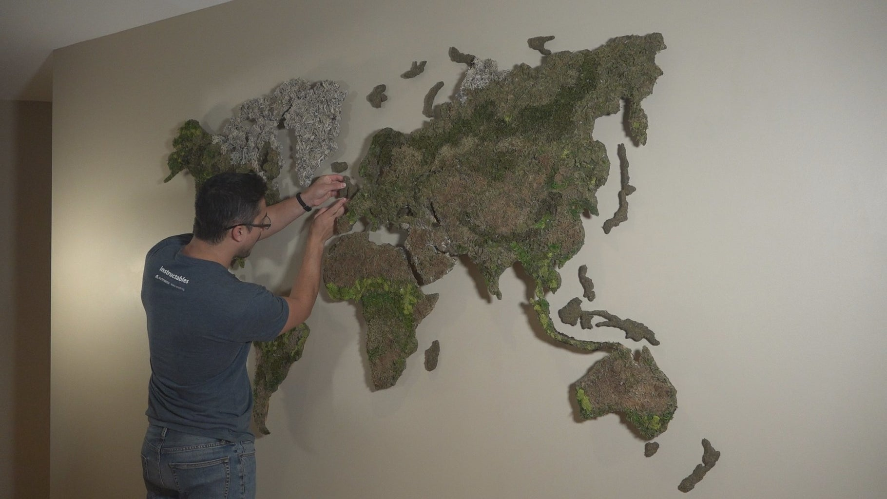 Final Mounting on the Wall