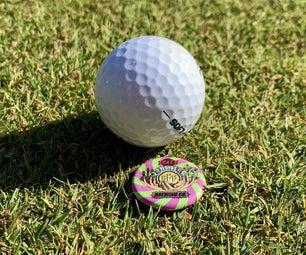 瓶盖高尔夫球标记