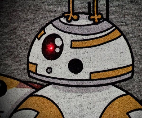 Light-Up BB8 T-Shirt