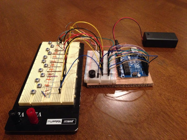 Arduino Dubstep Piano Keyboard