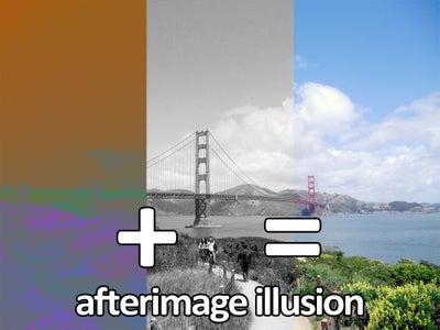 Afterimage Illusion