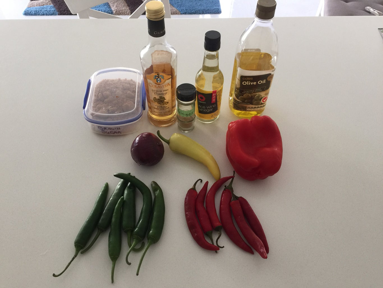 Sweet Chilli Sauce / Paste