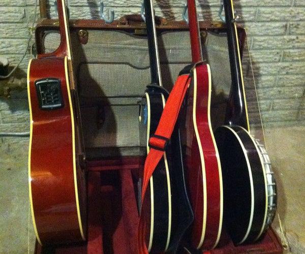 Guitar Throne