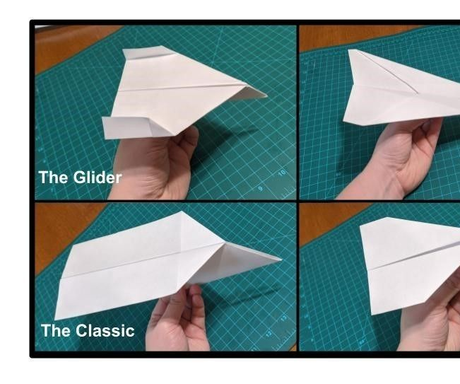 How to Make Paper Airplanes- 4 Simple Designs