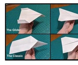 如何制作纸飞机 -  4简单的设计