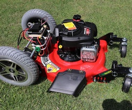 Build a Robot Lawnmower