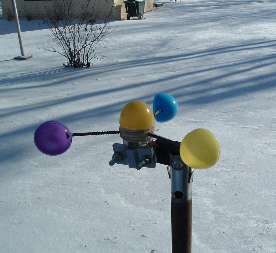 Easter Egg Anemometer (Wind Speed Meter)