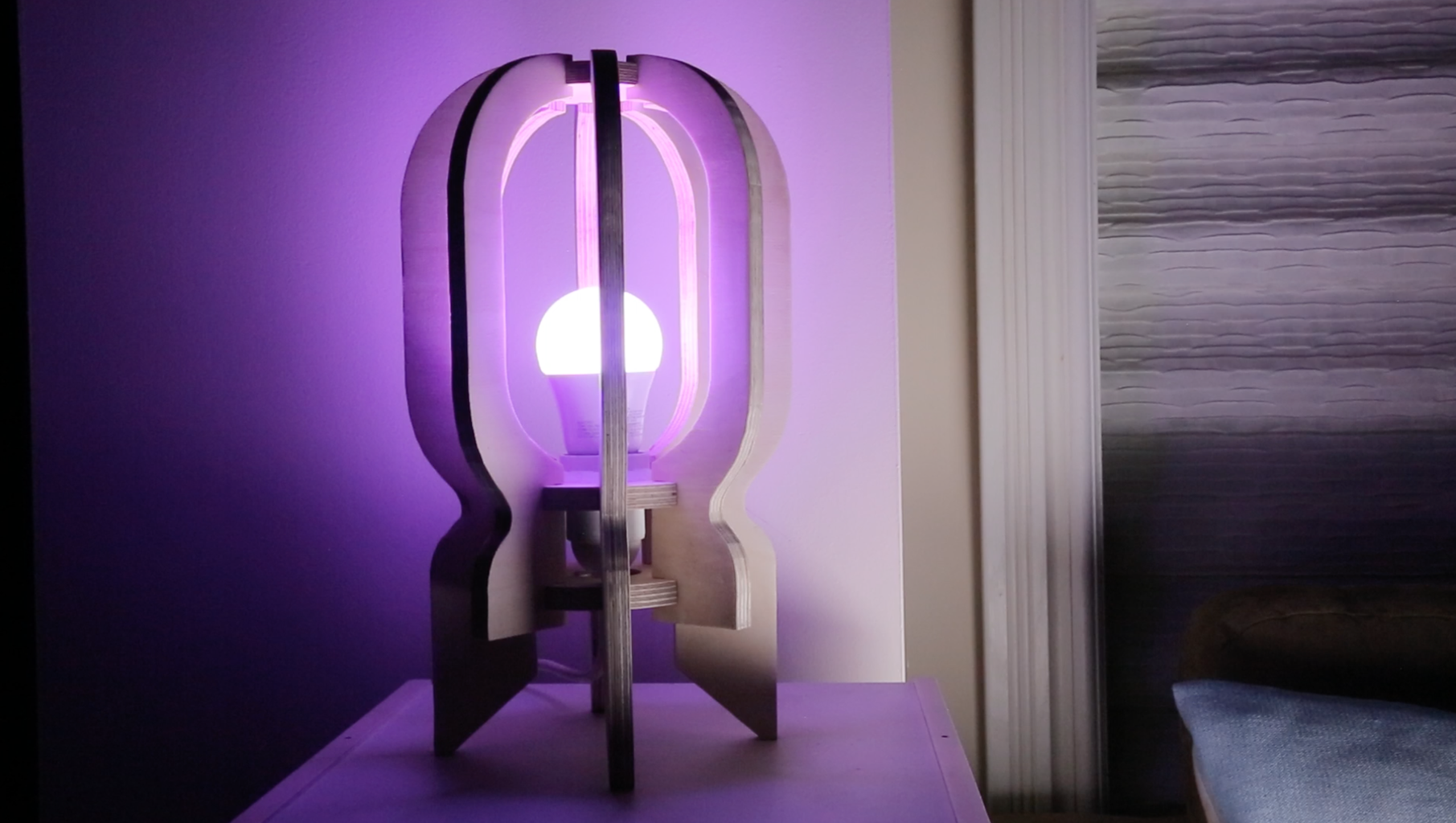 And Here It Is! Your Cosmic Rocket Lamp Is Ready =)