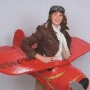 Amelia Earhart's Airplane Costume