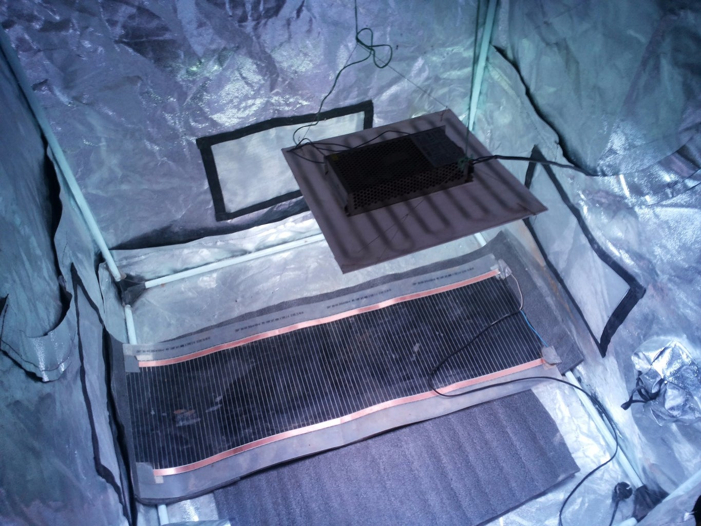 Connecting MeLion Growbox System
