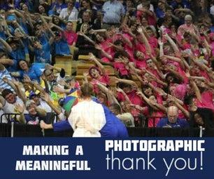 制作有意义的摄影感谢你
