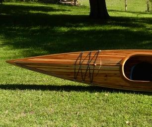 Building a Cedar Strip Kayak