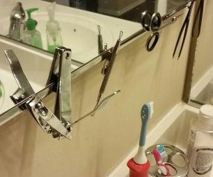 Bathroom Tool Organization