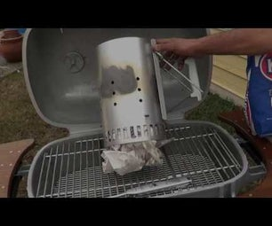 How to Use a Weber Rapid Fire Chimney