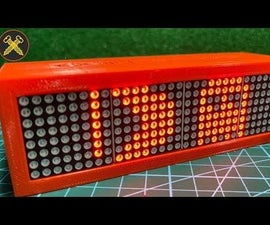 Make a LED Matrix Box With Multiple Effects